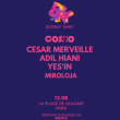 Soirée Distrikt x Cosmo Records W/ Adil Hiani, Cesar Merveille & Yes'inD à PARIS 19 @ Glazart - Billets & Places