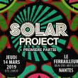 Concert SOLAR PROJECT + 1ÈRE PARTIE