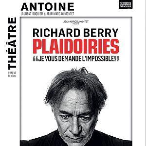 PLAIDOIRIES @ Théâtre Antoine - Paris