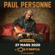 Concert PAUL PERSONNE à LILLE @ Théâtre du Casino Barrière - Billets & Places