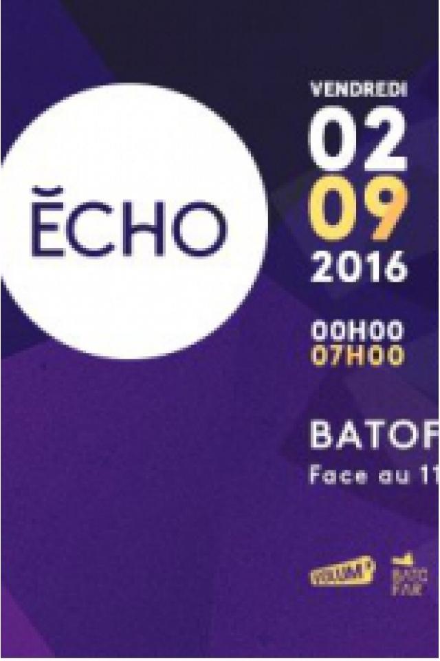 Carte ECHO W/ Kiko Manuel-M nanOO Moostik Kiab à Paris @ Le Batofar - Billets & Places