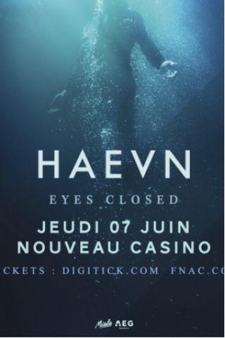 Concert HAEVN à Paris @ Le Nouveau Casino - Billets & Places