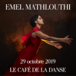 Concert EMEL MATHLOUTHI à Paris @ Café de la Danse - Billets & Places