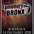 Affiche Les tambours du bronx + guest