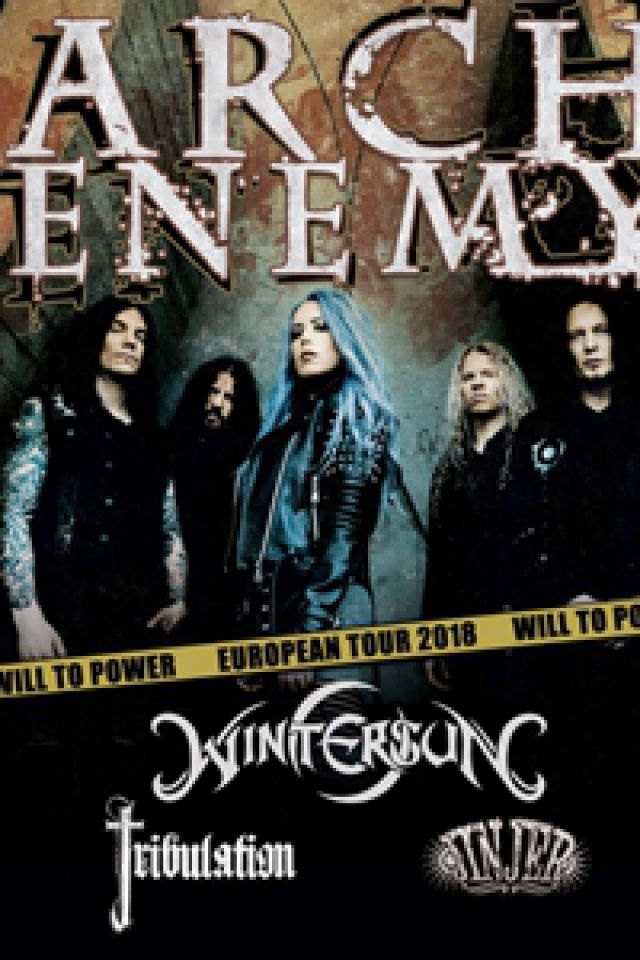 "Concert ARCH ENEMY "" Will To Power Tour 2018"" à RAMONVILLE @ LE BIKINI - Billets & Places"