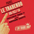 Concert L'Entourloop Ft Troy Berkley & N'Zeng + Guests à Paris @ Le Trabendo - Billets & Places