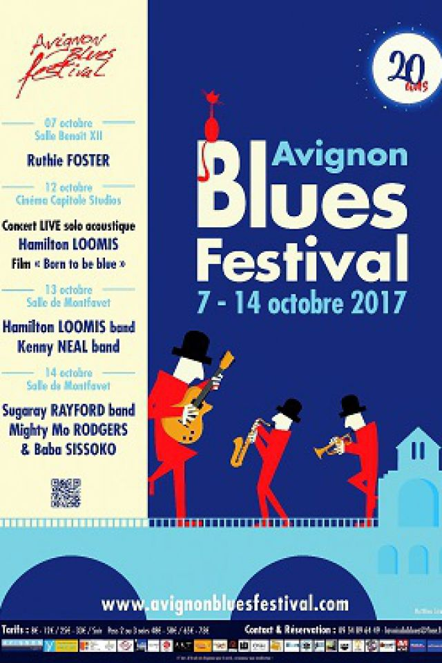 AVIGNON BLUES FESTIVAL - PASS 2 soirs le 7 et 14 Oct @ Salle Benoît XII - AVIGNON