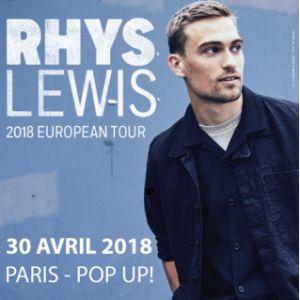 RHYS LEWIS @ Pop-Up! - PARIS