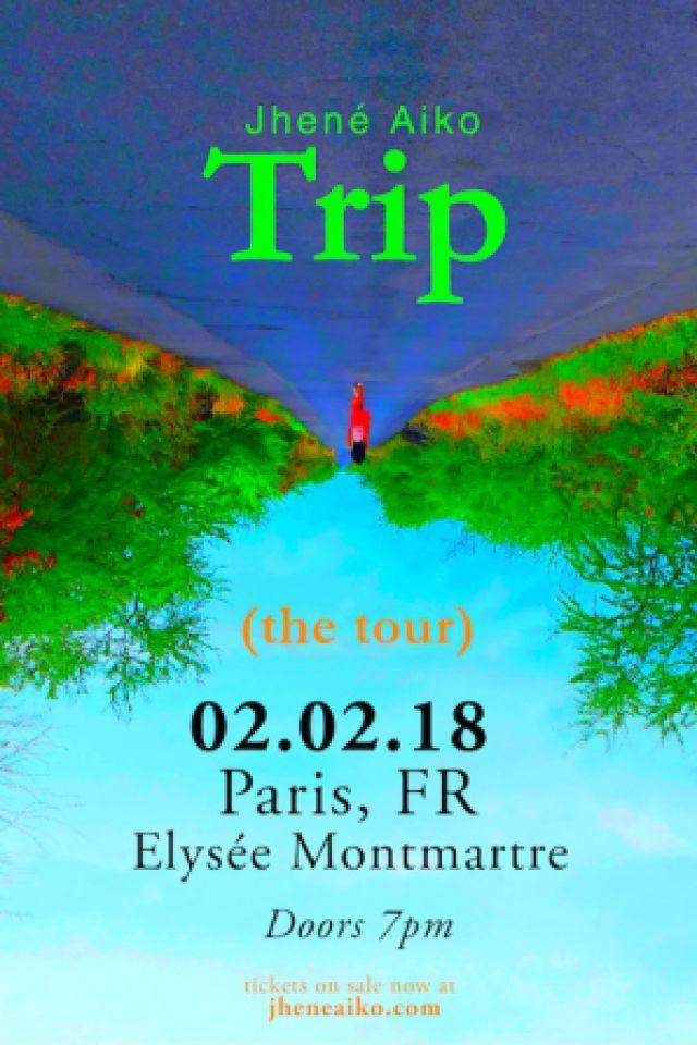 Jhené Aiko - Elysée Montmartre @ ELYSEE MONTMARTRE - PARIS
