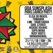 Affiche Goa sunsplash - paris launch party