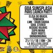 Concert GOA SUNSPLASH - PARIS LAUNCH PARTY