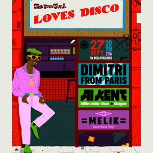 Free Your Funk Loves Disco Ft. Al Kent & Dimitri From Paris