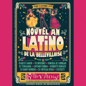 Nouvel An Latino De La Bellevilloise