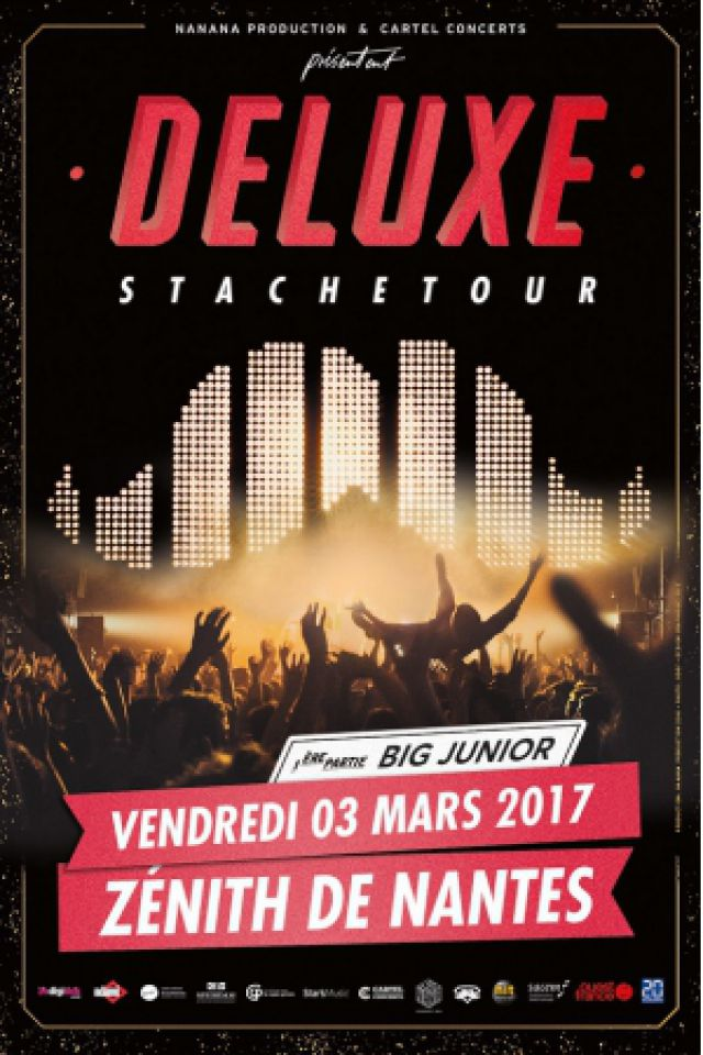 Concert DELUXE à Saint Herblain @ ZENITH NANTES METROPOLE - Billets & Places