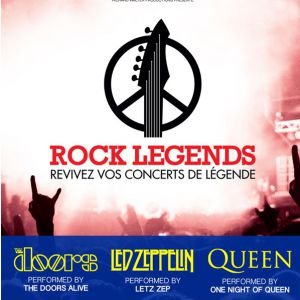 ROCK LEGENDS @ Zénith Arena  - LILLE