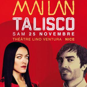 Mai Lan + Talisco - Sam 25 Nov - Théâtre Lino Ventura - Nice @ Théatre Lino Ventura - Nice