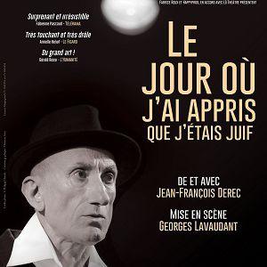 Le jour où j'ai appris que j'étais juif ! @ Théâtre de l'Archipel - Salle Rouge - PARIS