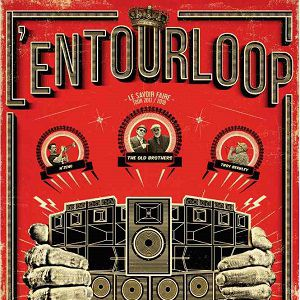 L'ENTOURLOOP ft. Troy Berkley & N'Zeng @ LE 106 - ROUEN