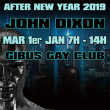 Soirée JOHN DIXON AFTER NEW YEAR 2019