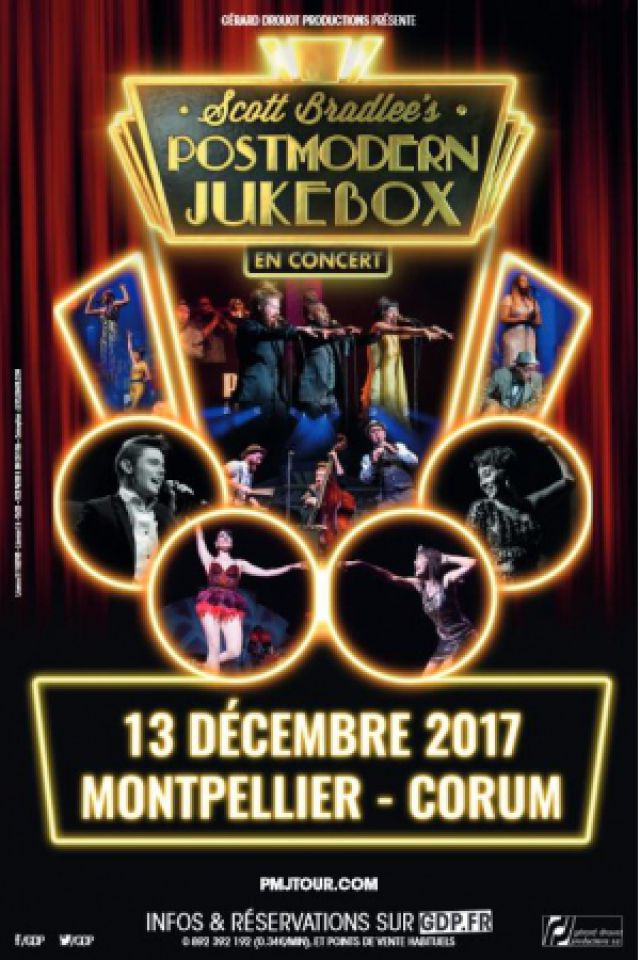 SCOTT BRADLEE'S POSTMODERN JUKEBOX @ Le Corum - MONTPELLIER