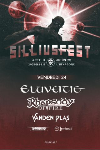 Festival SILLIUSFEST - VENDREDI à AUTUN @ HEXAGONE - Billets & Places