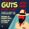Soirée FREE YOUR FUNK : GUTS AFTER-SHOW