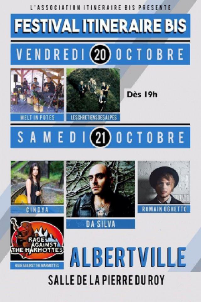 FESTIVAL ITINERAIRE BIS - Pass 2 Jours @ Salle de la Pierre du Roy - Albertville
