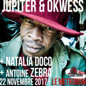Jupiter & Okwess + Natalia Doco + Antoine Zebra @  LE METRONUM - TOULOUSE