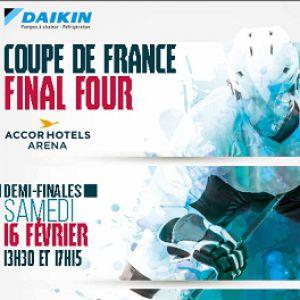 Demi-Finales De La Coupe De France De Hockey Sur Glace