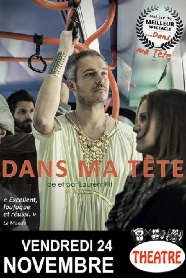 """Laurent Pit : """"Dans ma tête…"""" @ BAIE DES SINGES - Cournon d'Auvergne"""