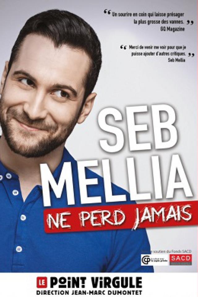 SEB MELLIA @ Théâtre Le Point Virgule - PARIS