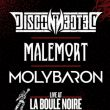 Affiche Disconnected + malemort + molybaron