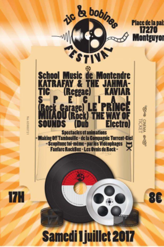 FESTIVAL ZIC ET BOBINES - LE PRINCE MIIAOU + KAVIAR SPECIAL à MONTGUYON @ Place du champ de foire  - Billets & Places