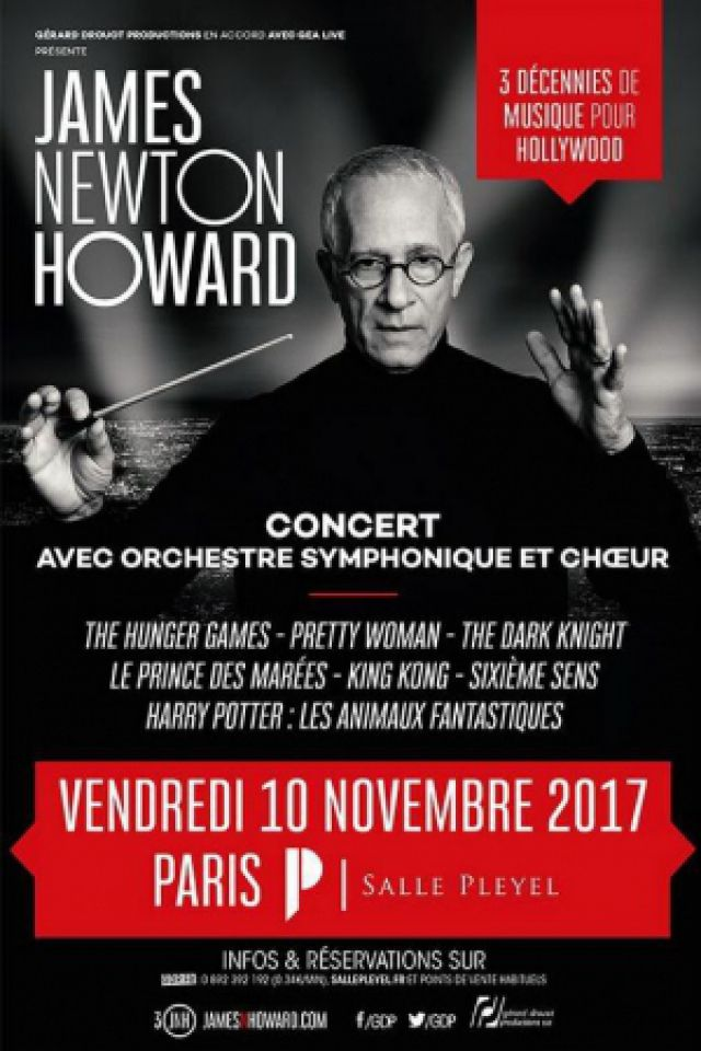 JAMES NEWTON HOWARD @ Salle Pleyel - Paris
