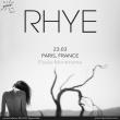 Concert Rhye + Jens Kuross