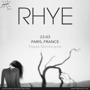 Rhye + Jens Kuross @ ELYSEE MONTMARTRE - PARIS