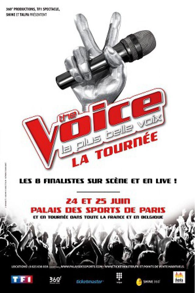 THE VOICE  @ Palais des Sports - Paris