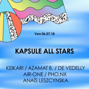Kapsule All Stars • Good Music For Good People @ La Machine du Moulin Rouge - Paris