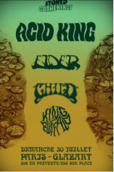 Concert ACID KING + ELDER + CHILD + KING BUFFALO