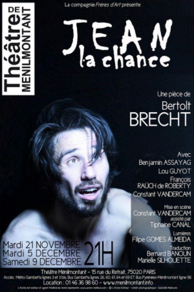 JEAN LA CHANCE @ Théâtre de Ménilmontant - Salle XL - Paris