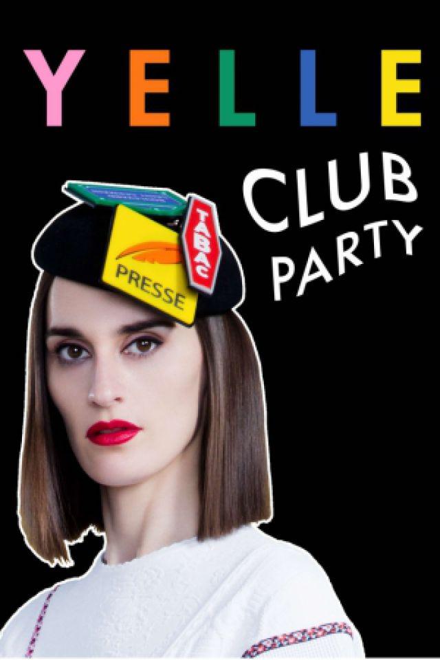 Yelle Club Party - 16 Janvier  @ Badaboum - PARIS