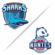 Match ANTIBES SHARKS vs NANTES @ Azurarena Antibes - Billets & Places