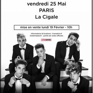 WHY DON'T WE @ La Cigale - Paris
