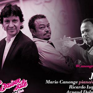 CANONGE & ZENINO QUINT'UP invit. NICOLAS FOLMER @ Le Baiser Salé Jazz Club - PARIS
