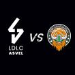 Match LDLC ASVEL / LE PORTEL à Villeurbanne @ Astroballe - Billets & Places