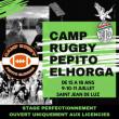 Match Stage Pepito Elhorga 15 - 18 ans à SAINT JEAN DE LUZ @ Stade Kechiloa - Billets & Places