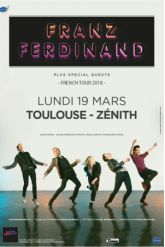 Billets FRANZ FERDINAND - ZENITH TOULOUSE METROPOLE