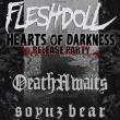 Concert Fleshdoll + DeathAwaits + Soyuz Bear à TOULOUSE @  LE METRONUM - Billets & Places