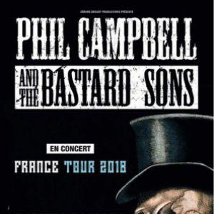 PHIL CAMPBELL & THE BASTARDS SONS @ Le Ferrailleur - Nantes