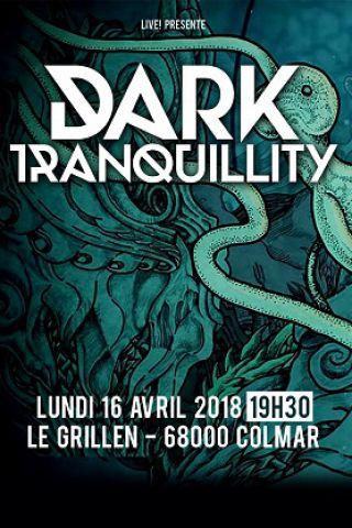 Concert DARK TRANQUILITY + GUEST